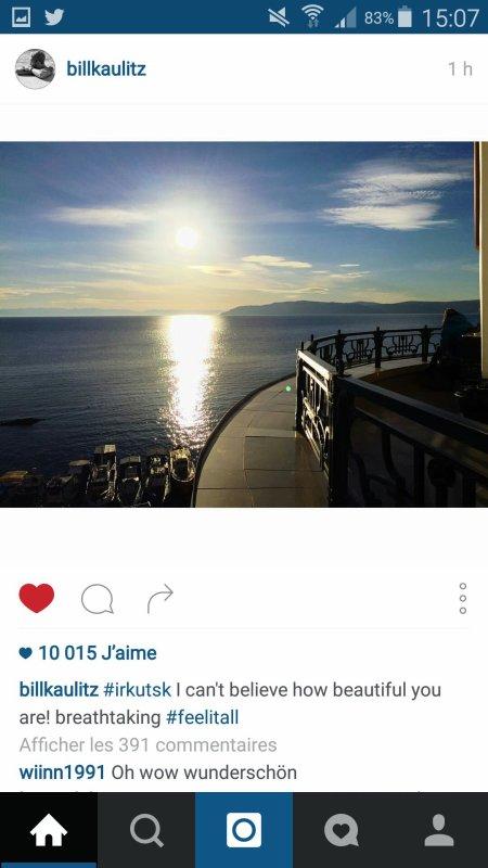 Instagram Billkaulitz, gustavschäfer et tokio hotel
