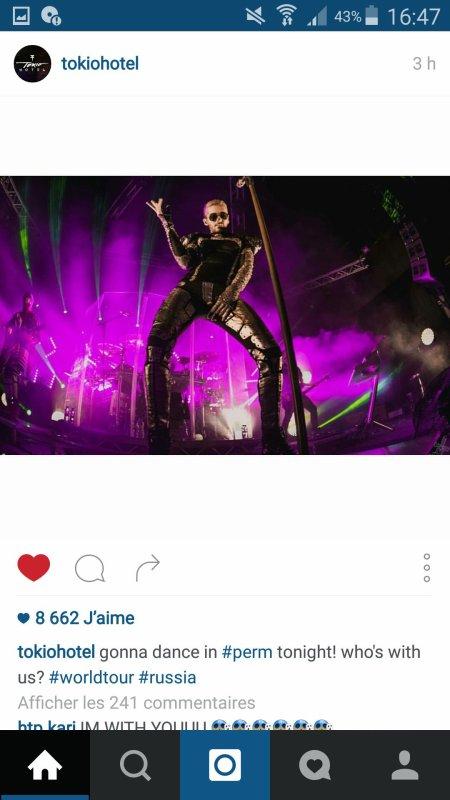 Instagram Georg Listing & tokio hotel