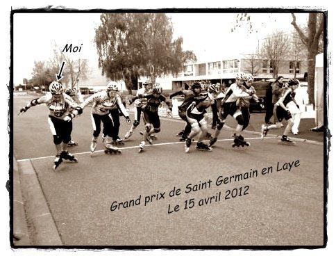 Compétition à Saint Germain en Laye