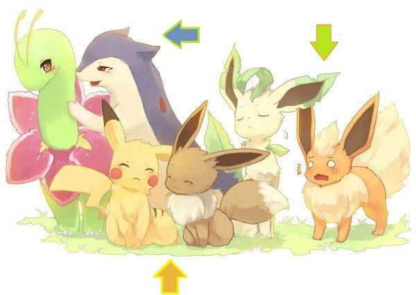 Personnages Pokémons