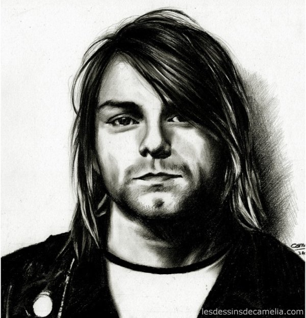 Kurt Cobain & Escape the fate miniature