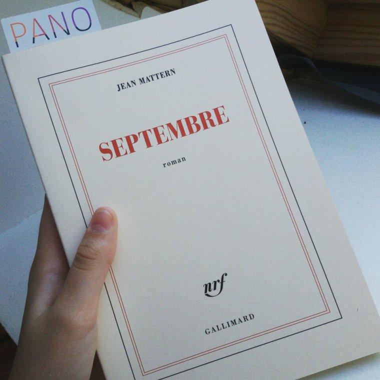 Septembre - Jean Mattern.