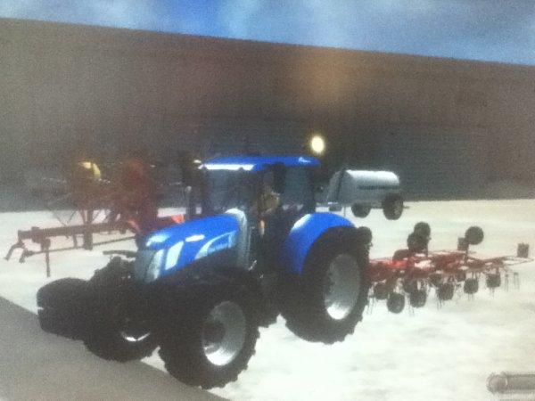 Nouveau new holland T7070 blue power