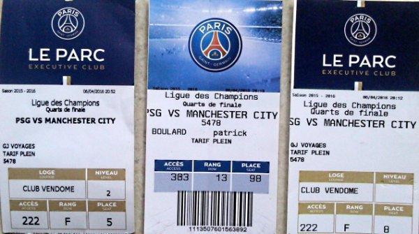 PSG - Manchester City 1/4 Final 2015 2015