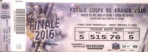 PSG MARSEILLE FINALE COUPE DE FRANCE 2016