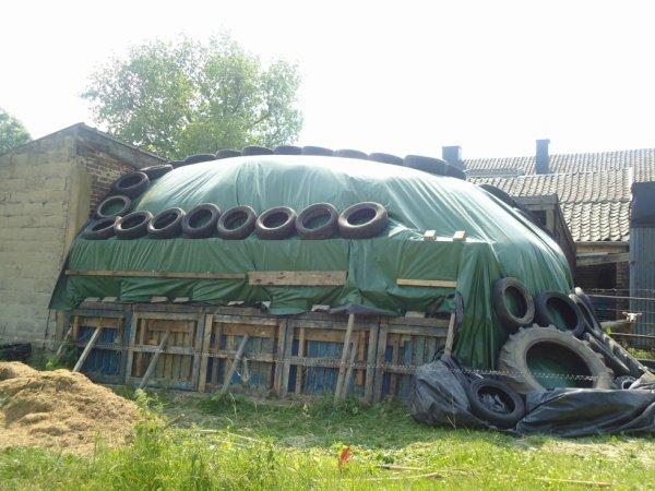 silo de foin 1ère coupe 2013
