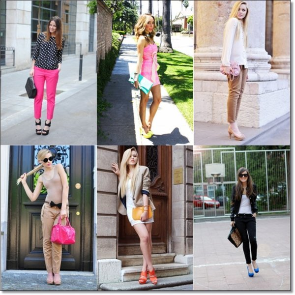 Street Style Touch Color