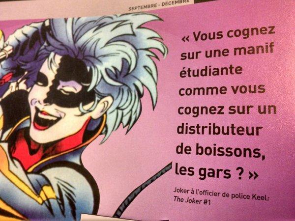 Le Joker a de l'humour