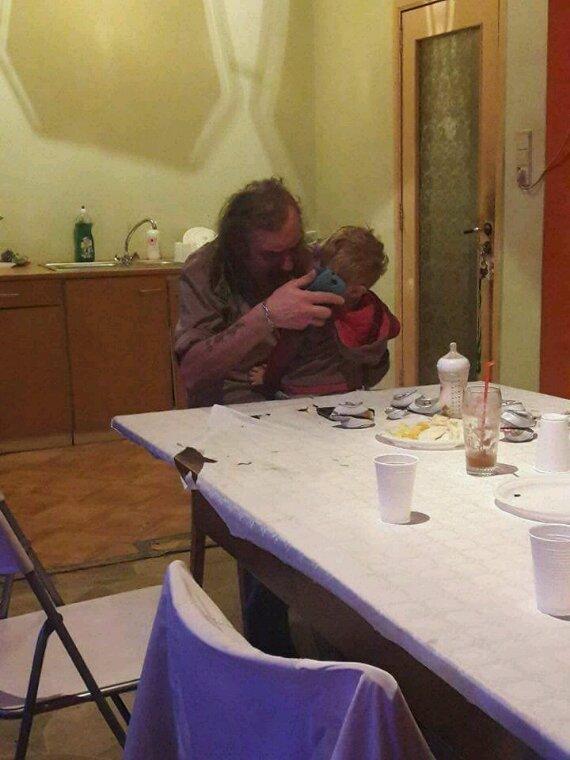 Mon père et Son petit flis