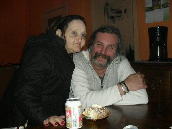Ma mère et mon père WC