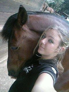 Monter à cheval, le bonheur à l'état pur tout simplement.