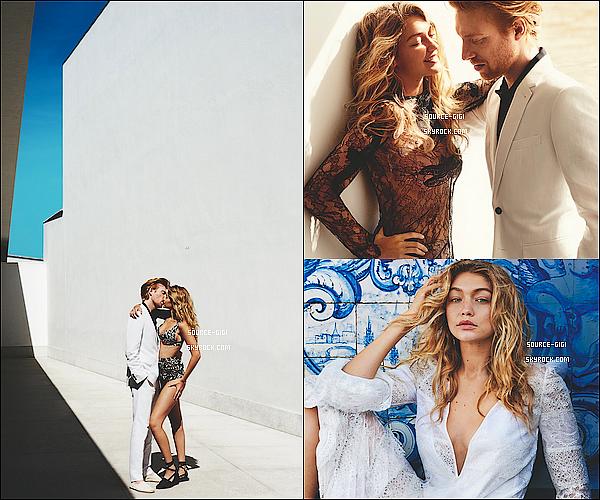 - Découvrez  le shooting de Gigi Hadid pour Vogue US pour Décembre  -