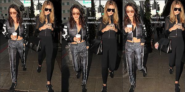 - 25/11/2015 : Gigi et sa petite soeur Bella dans les rues de Los Angeles -