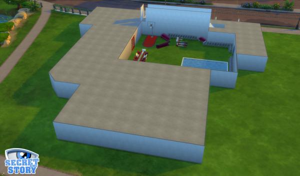 La Maison des Secrets est toujours en construction