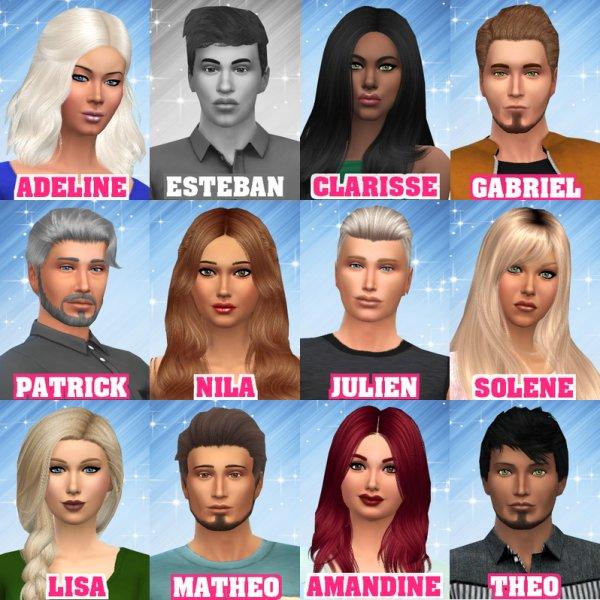 Les Candidats / Quels sont vos candidats préférés ? (Semaine 2)