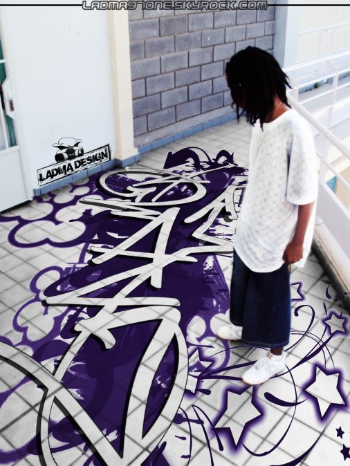 Graff on da floor