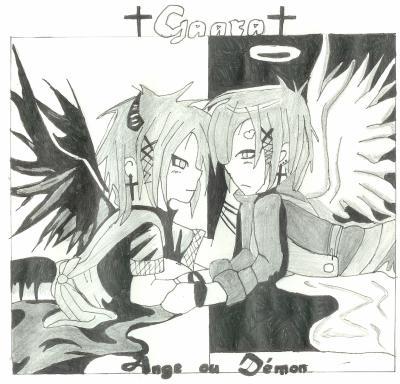 Dessin Gaara Démon Et Ange Mangas Plein De Mangas