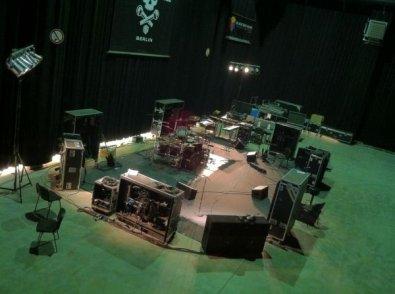 Retour en studio avant les prochains concerts