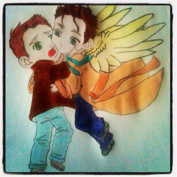 Dean Winchester & Castiel _ Supernatural