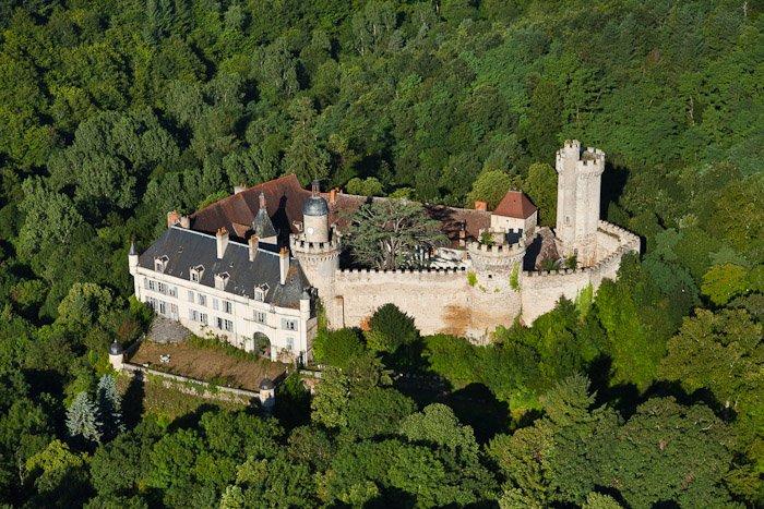Un spectre au château de Veauce en Auvergne