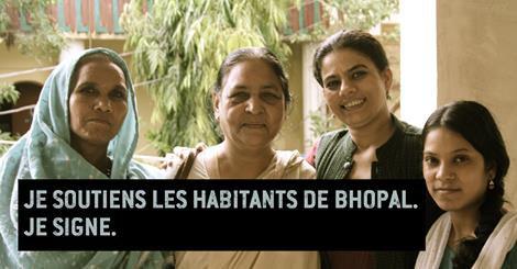 Parcequ'une catastrophe comme celle de Bhopal ne doit jamais se reproduire, parceque la vie humaine est plus importante que tous leurs profits, et parceque nous nous devons d'être solidaire de ceux qui luttent contre l'injustice :  10 jours pour signer | Amnesty International France