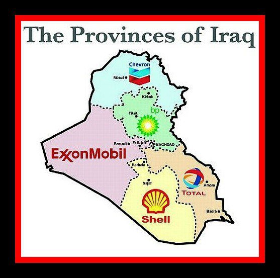 The provinces of Iraq...