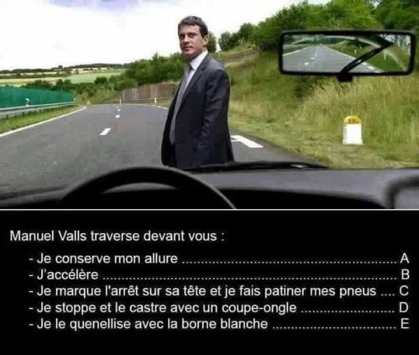 Valls traverse...