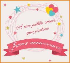 Joyeux Anniversaire Petite Sœur 1 7 Blog De Martinastoesselfans