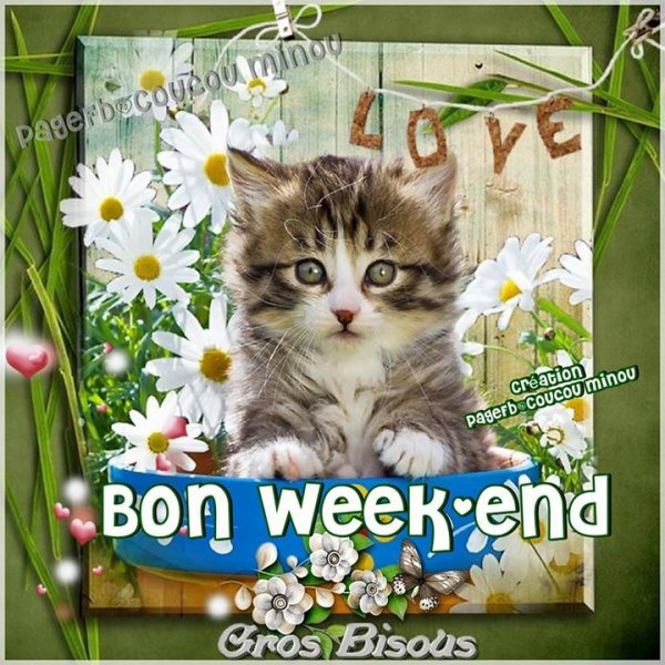 BON WEEK-END A TOUS