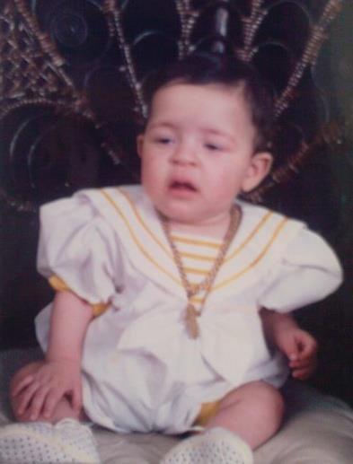 moi a l'age de 10 mois