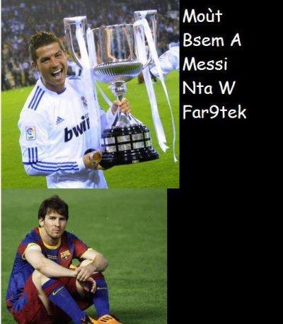 Mdr meskine Messi