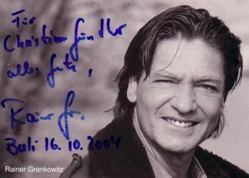 Autographe de Michael