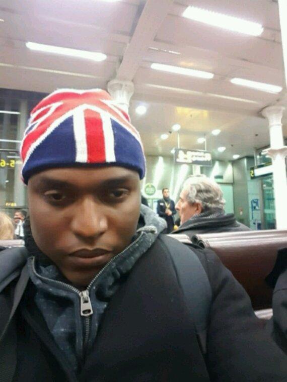 Moi à Londres