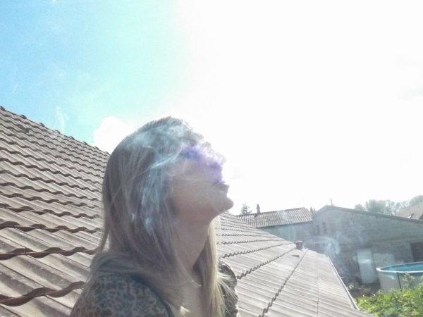 ==> Sur mon toit ... :D