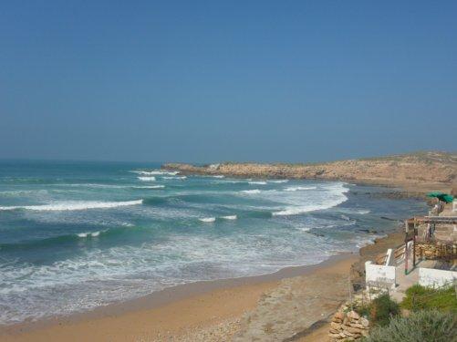 la plage d  agadir    imswan