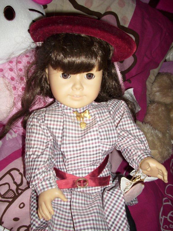 My Amercian Girl Doll Meet Sammantha Parkington:)
