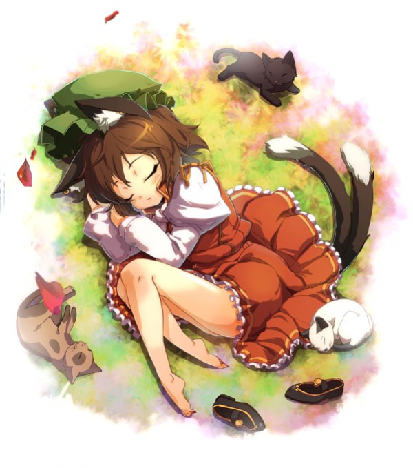Fille manga avec des chats manga powaaaaa land - Fille manga chat ...