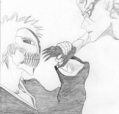 Ichigo et Grimmjow (HOWLING)
