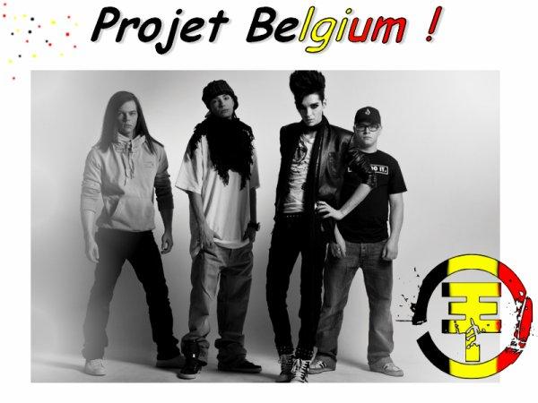 Projet Belgium Tokio Hotel : Les voir des étoiles pleins les yeux ♥