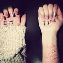 Depression, mutilation..