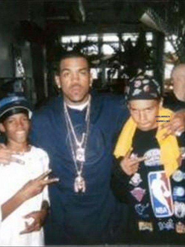 Photos rare de Chris Brown étant plus jeune ( mauvaise qualités )