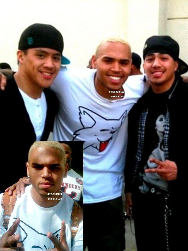 Chris Brown ( Je ne sais pas où a était pris ces photos )