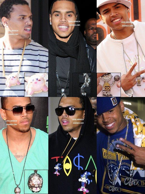 Chris Brown - Choisi tes pendentifs préfèrer