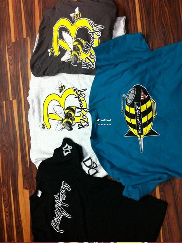 Chris Brown D&D , KindOfFamous (marques de vêtements)