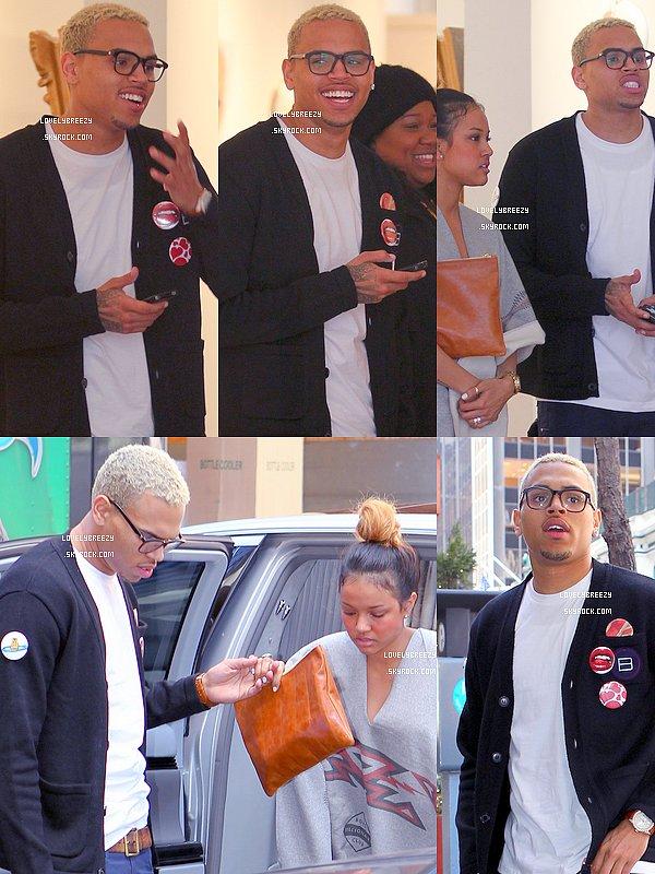 NEW DE LA JOURNEE DU 22/03/2011 : Sort de son Hôtel à NY, GMA, Basket-Ball, Galerie Opéra et Restaurant avec Kae (Karrueche)