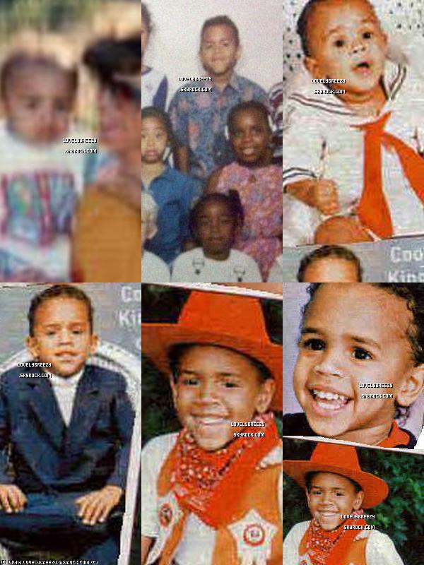 Photo de Chris Brown Bébé et adolescent (Elles ne sont pas tous de bonne qualités)