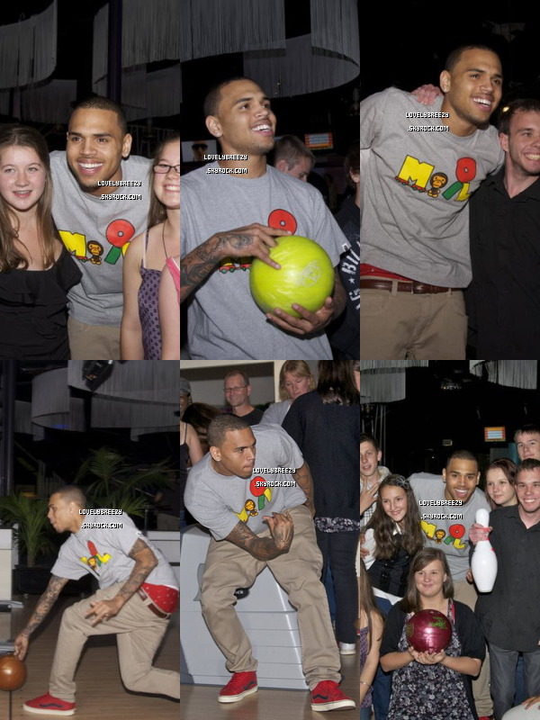 Chris Brown au Bowling