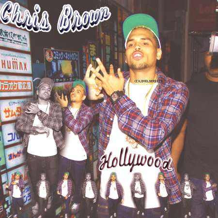 Chris Brown à Hollywood