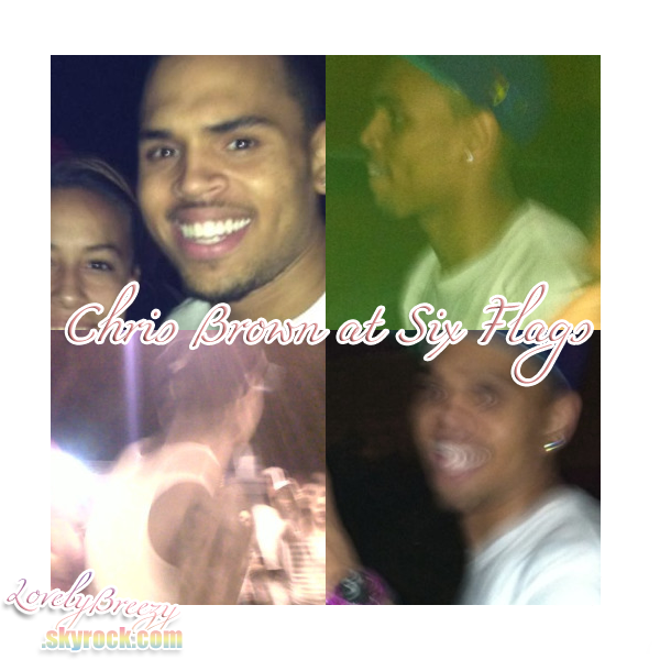 Chris Brown at Six Flags