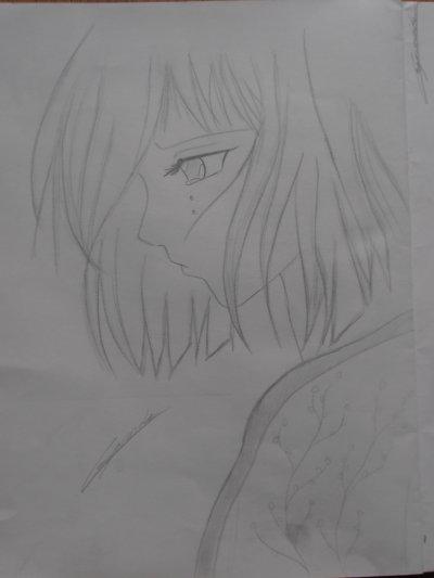 Fille triste blog de dessin manga - Fille manga a dessiner ...